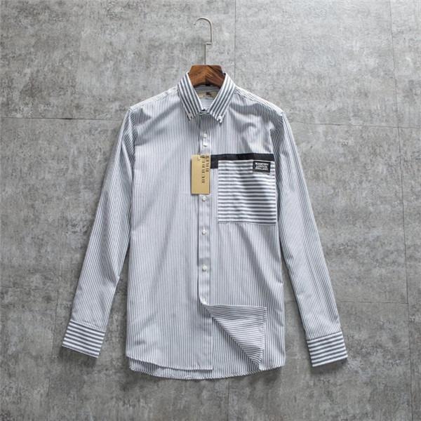 19FW New luxury brands design BBR luxury business casual shirt jacket sweater hoodie men Fashion casual Streetwear Sweatshirts Outdoor 12.27