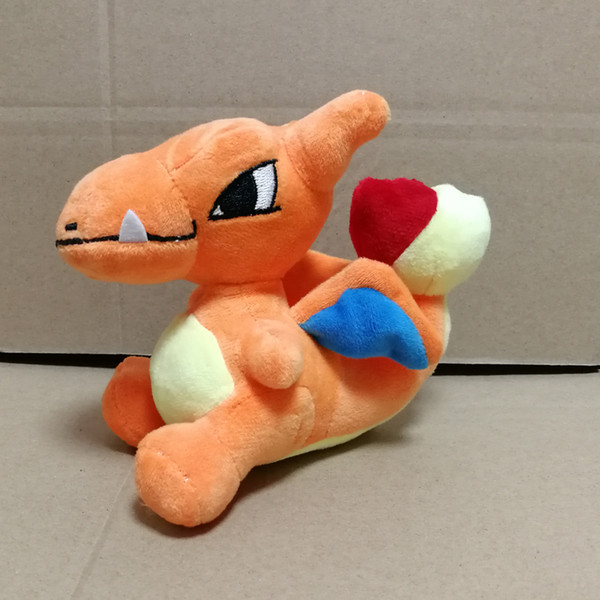 Hot Sale New 13cm Charizard Pikachu Plush Stuffed Doll Toy For Kids Best Holiday Gifts