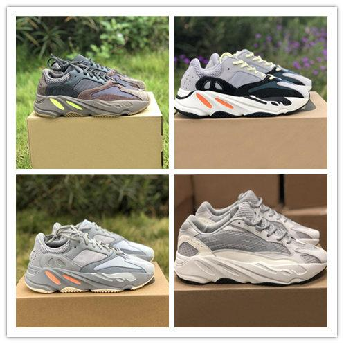 Inertia 700 V2 Static Wave Runner Kanye West 700 Mauve Men Designer Sports Running Shoes For Men Sneakers Women Luxury Brand Casual Trainers Running