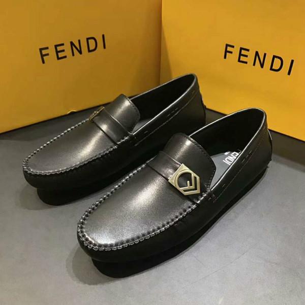 Yeni ziyafet rahat ayakkabılar vahşi erkek klasik lüks ayakkabı moda parti kıdemli lüks beanie sürüş ayakkabı