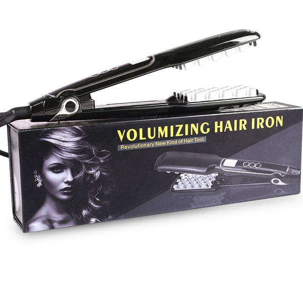 Volumizing Hair Iron Fast Ceramic Straightening Hair Volumizing Inserts Hair Pump Drop Shipping Straightener Professional Flat Iron Modeling