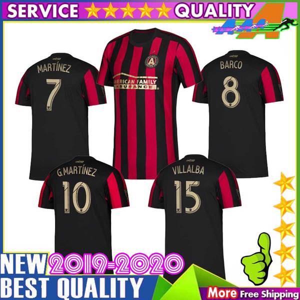 Tailândia qualidade 19 20 Atlanta united camisa de futebol GARZA JONES Major league futebol VILLALBA MCCANN 2019 2020 camisa de futebol uniforme