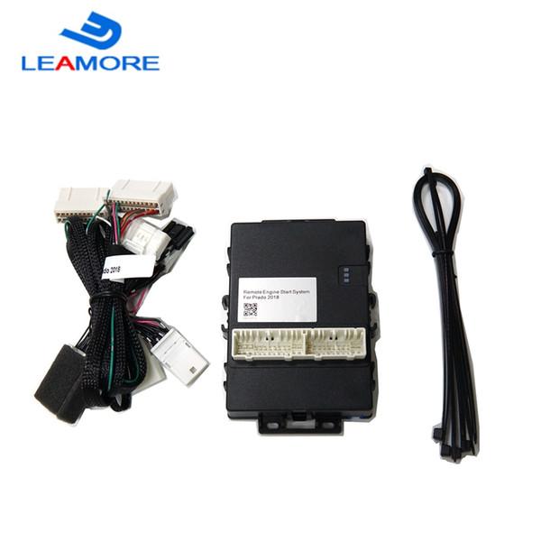 Arrancador remoto del coche para Prado 2018 Sistema de arranque y parada del motor Producto inalámbrico Alarma del coche