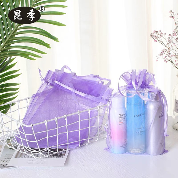 organza bags supplies Wedding return gifts party shower favors baby shower giveaways anniversary birthday door gifts package bag 20*30cm