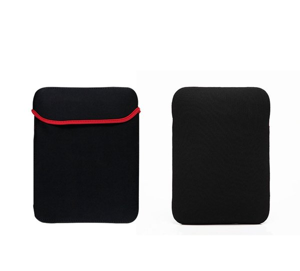 """Universal Black Pouch Sleeve Soft Laptop Bag for Tablet 7"""" 8"""" 9"""" 9.7"""" 10"""" 12"""" 13"""" 14"""" 15'' inch Mouse Pad"""
