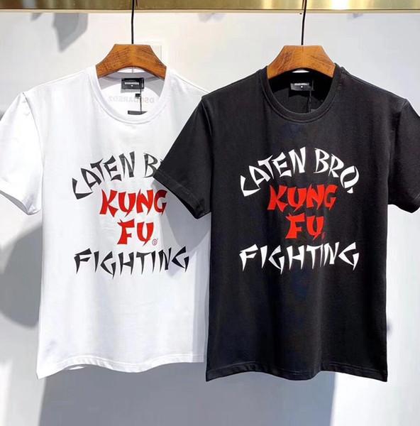 Mens italienne manches courtes impression T-shirts Hommes T-shirt chaud mélange de coton à manches courtes T-shirts T-shirts occasionnels pour T-shirts de luxe Hip Hop