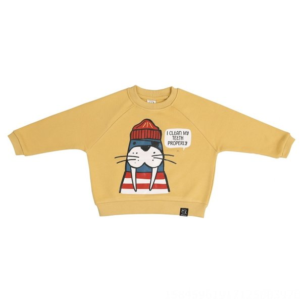 139-mar suéter león (amarillo)