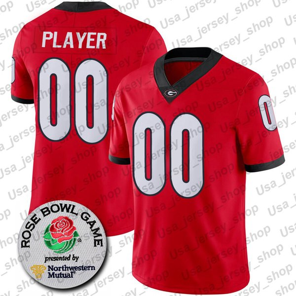 Red + Rose Bowl Patch