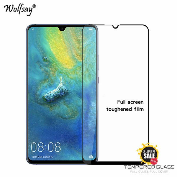 2PCS Full Glue Cover Tempered Glass Huawei Mate 20 Screen Protector For Huawei Mate 20X Glass Phone Film For 20 X <