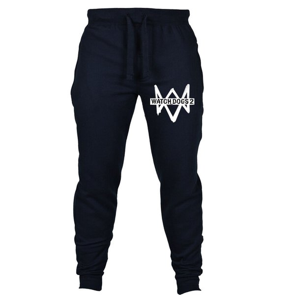 Hot Game Watch Dogs pants cospaly pants Joggers Costume Tracksuits Trousers Workout men Sweatpants