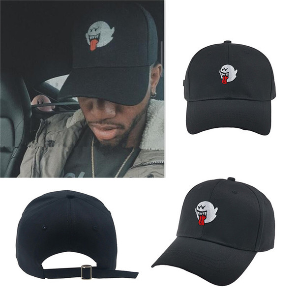 Bryson Tiller Hat American Rapper Singer Trapsoul Snapback Hip Hop Dad Hat Boo Mario Ghost Women Men Baseball Cap Outdoors hats