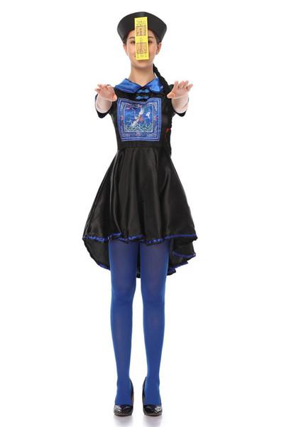 Halloween Kleid für Frauen und Mädchen Cosplay Kleidung Vampire Kleider Kostüme Zombie Kleidung dunkelen Geist Brautstyling Kleidung