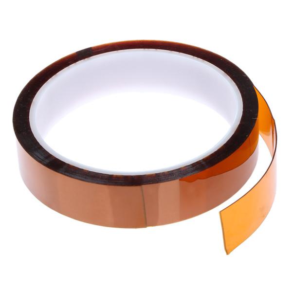 2PCS 20MM × 30M ارتفاع في درجة الحرارة مقاومة للحرارة الشريط ارتفاع في درجة الحرارة لاصق بوليميد أصحر