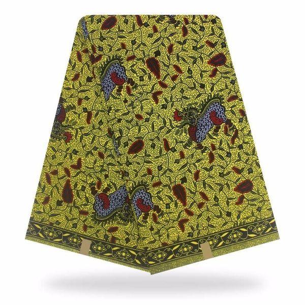 Nijeryalı Afrika Garantili Gerçek Hollandalı Balmumu Afrika Pamuk Kumaş Sıcak Baskılar Kumaş Gerçek Wax Hollandais Ankara Elbiseler