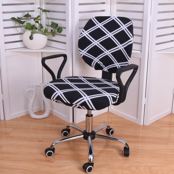 High Quality Elastic Seat Covers For Computer Chairs Spandex Removable Office Chair Covers Anti-dirty Gaming Chair Seat Cover