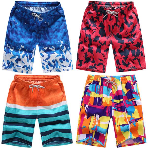 Calças de praia MM508 calças masculinas de lazer de secagem rápida dos homens de cinco pontos