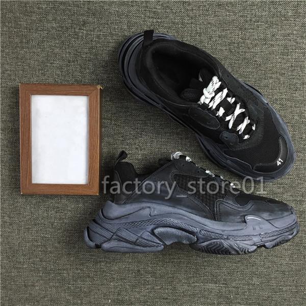 Top Quality Luxury Triple-S Clean Sneakers Mens Women Jogging Party Shoes Triple S Casual Shoes Walking Shoe Dad Shoe Sneakers