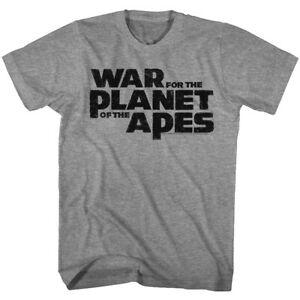 War for the Planet of The Apes Logo Men's T Shirt Vintage Movie