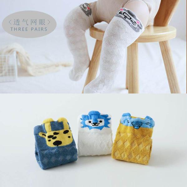 Ins baby socks newborn socks cute cartoon Kids Sock cotton Infant Knit Knee High Socks girls Best Sock Boys Sock baby clothes 0-3t
