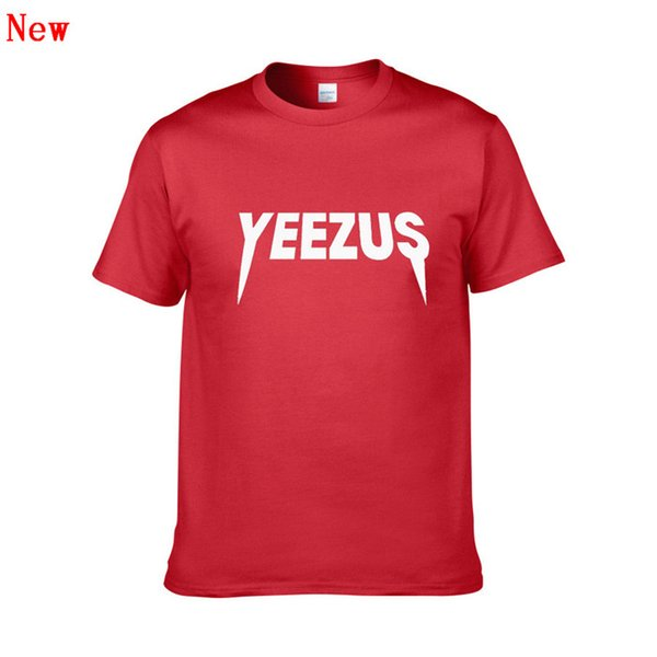 Short Sleeve T Shirt for Men and Women YEEZUS 3D Printing Tshirts Male Slim Fit Plus Size XS-XXL Hip Hop Cotton t-shirts ZG6