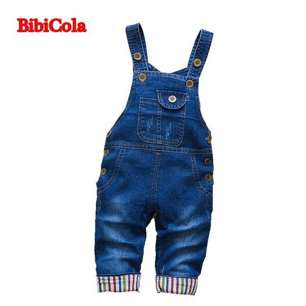 good quality autumn boys denim pants baby denim overalls jumpsuits for toddler/infant kids bib pants children clothing longs jeans