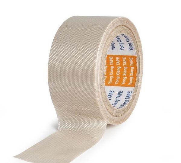 Wear-resistant Anti-static Adhesive Tape 0.13mm Teflon High Temperature Heat-resistant Adhesive Tape Ptfe Fiber Cloth Duct Tape T190618