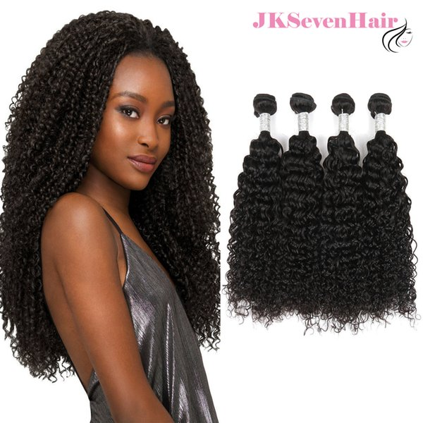 12A Top Grade Curly Wave Brazilian Virgin Hair Extensions 4PCS Peruvian Indian Malaysian Human Hair Weaves With Thick Bottom