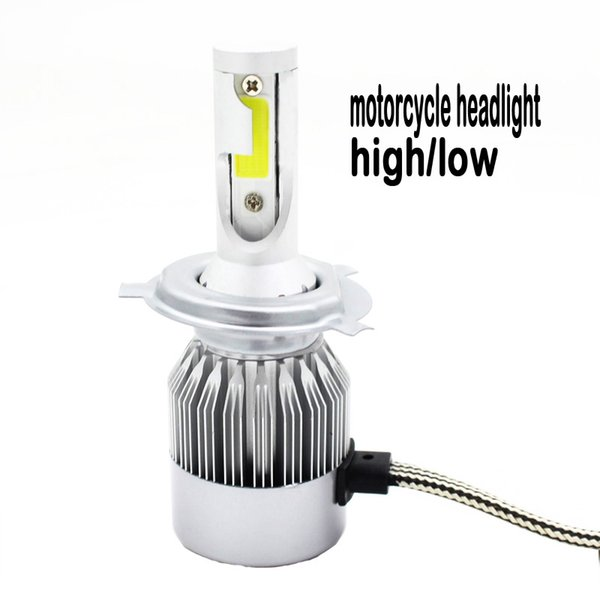 motorcycle headlight led h4 hb2 9003 h4-3 light high power LED headlight 12v 6500k Moto Hi/lo low high front light