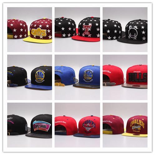 Free Shipping New Men Women Basketball Snapback Baseball Snapbacks Football Hats Mens Flat Caps Adjustable Sports mix order