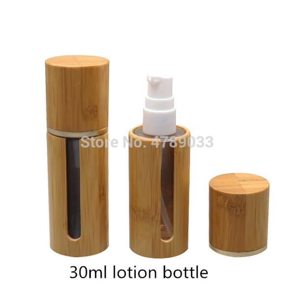 10pcs 30ml Empty Cosmetic Emulsion Bottle Containers,Travel Makeup Lotion Pump Bottle, Portable Liquid Foundation Bottles