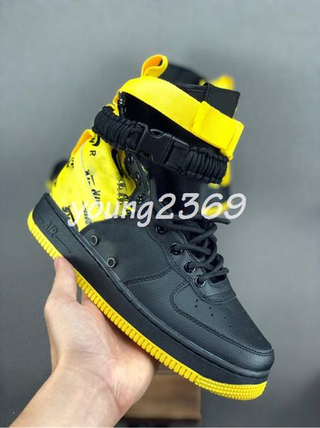 Новые Лунные силы 1 1s высокого Duckboot Sneakerboot Принудительный мужские сапоги Дизайнерская обувь для мужчин кроссовки Подсобные сапоги Вооруженный Классический размер обуви 11
