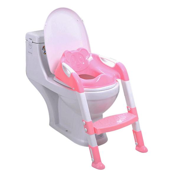 Klapp Baby Töpfchen Stuhl Mit Verstellbarer Leiter Kinder Töpfchen Baby Wc-sitz