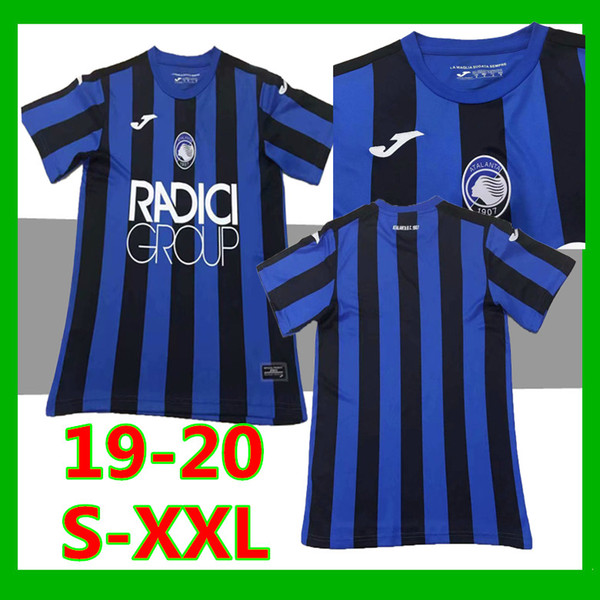 Size S-XXL 2019 Serie A ATALANTA BC soccer jersey 19 20 Thai qualit DUVAN GOMEZ FEULE ILICIC PASALIC football jerseys shirts