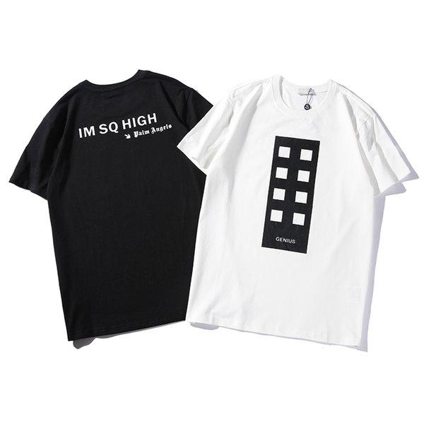Mens-Frauen-Entwerfer-T-Shirts Art- und Weisemarken-Buchstabedruck-Pullover-Blusen-beiläufiger Sommer-Oansatz bequemes High-end-B100014L