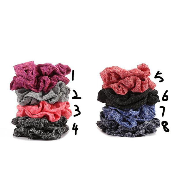 INS HOT Women Girls Cloth Elastic Ring Hair Ties Accessories Ponytail Holder Hairbands Rubber Band Scrunchies