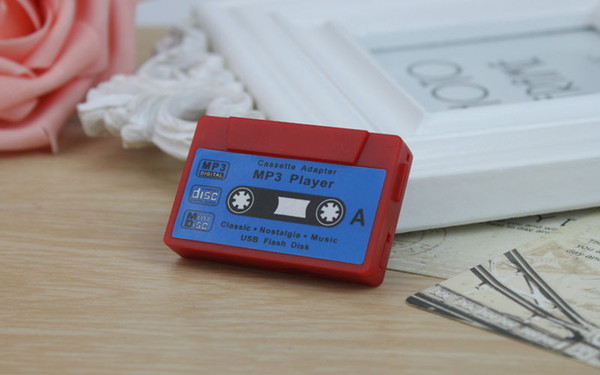 New 2017 Daono Magnetic tape MP3 Player Support Micro 32G SD TF Card Music Media 3.5mm jack Free Shipping Free shipping Made in China