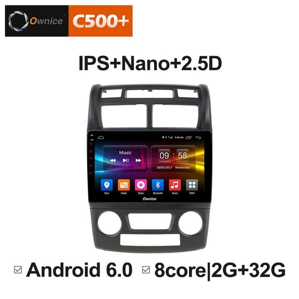 """9"""" 2.5D Nano IPS Screen Android Octa Core/4G LTE Car Media Player With GPS RDS Radio/Bluetooth For Kia Sportage 2007-2010 #5882"""