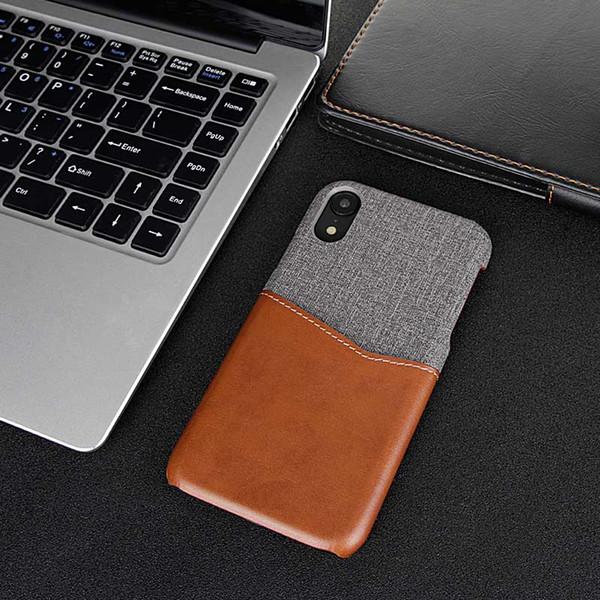 Designer de Luxo Casos Casos de telefone Moda telefone para Max 6 7 8 XS XR PU Q9 couro OE2