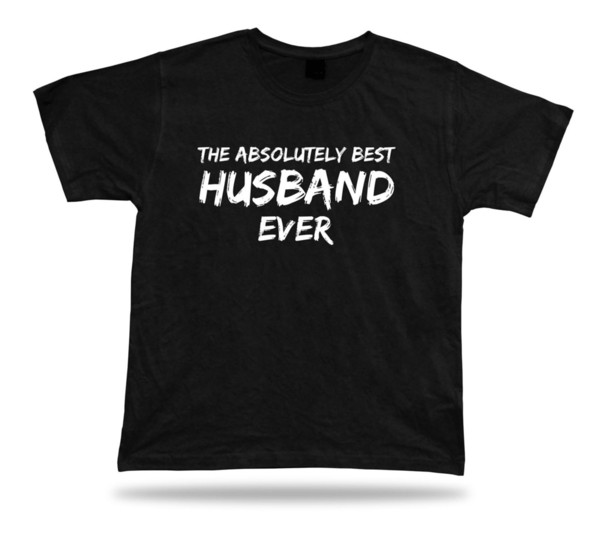 Valentines awesome best ever Husband TShirt BFF Gift wedding marriage lucky tee Funny free shipping Unisex Casual