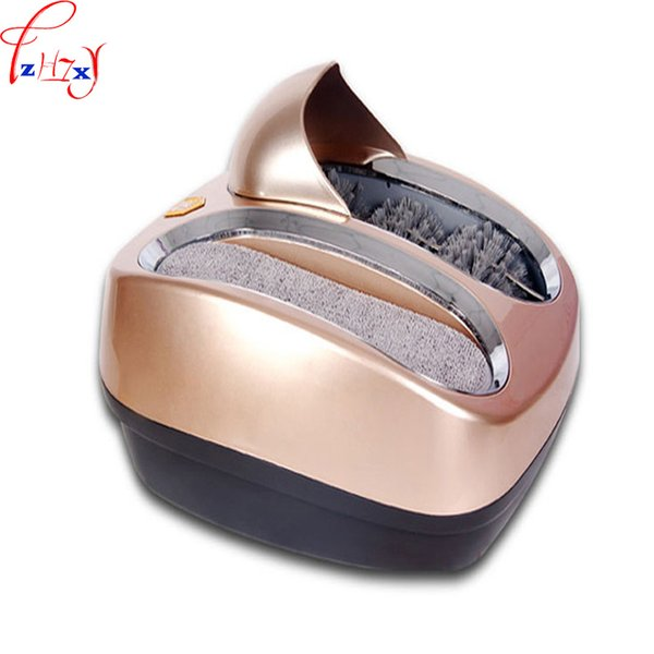 Fully automatic Intelligent sole cleaning machine automatic shoe polishing equipment Instead of Shoe covers machine 220v 30w