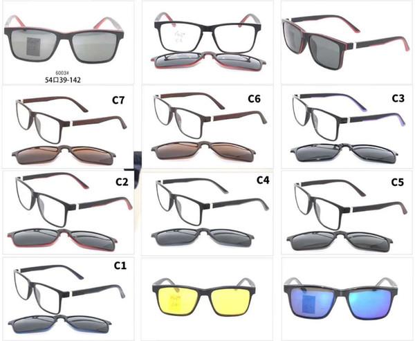 2019 TR90 glass frame with magnet clip Sun Glasses Oculos De Sol Double lense Flip Up Sunglasses Classic 10pcs/lot