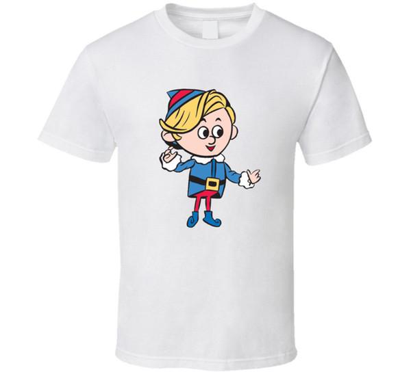 Hermey The Elf T-shirt Mens Tee Rudolph Misfit Reindeer Nosed Plush Toy Gift New Men Women Unisex Fashion tshirt Free Shipping black