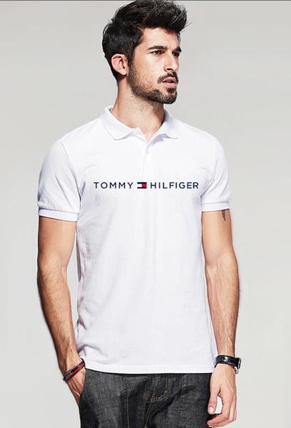 t-shirt d'été hommes t-shirts noirs décontracté coton t-shirt femme tops tees femmes hommes imprimer polo hip hop hommes polos