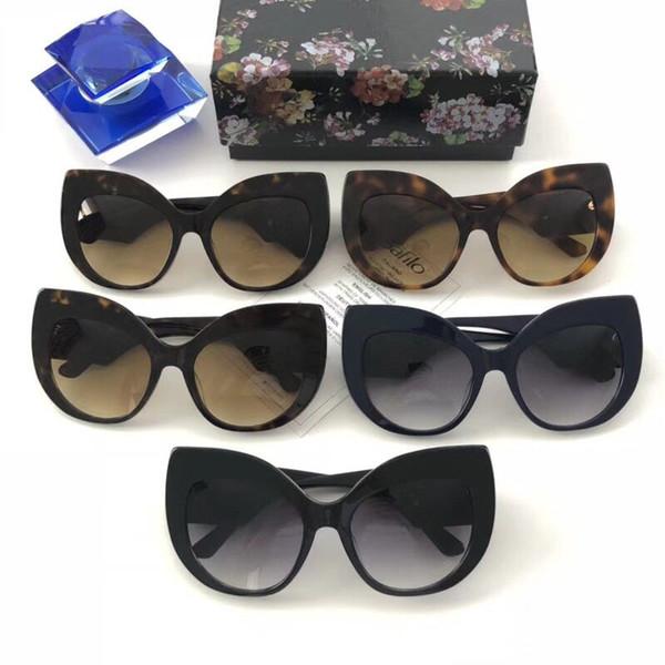 Lunettes de soleil de style baroque monture de lunettes de soleil mode 4321 pour femmes