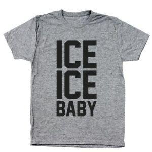 Buz Buz Bebek 90 S Partisi Retro Heather Gri erkek Tri-Karışımı T-Shirt