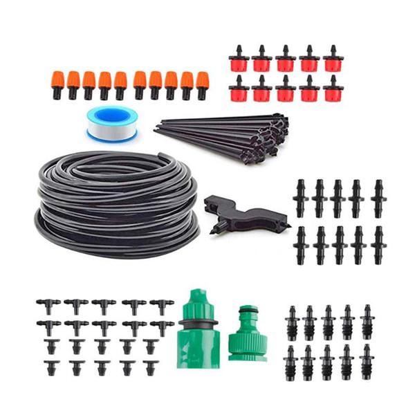 Système d'arrosage automatique bricolage 4/7 tuyau tube d'égouttage Système d'irrigation de jardin Système d'arrosage automatique Kits Jardin Système d'arrosage