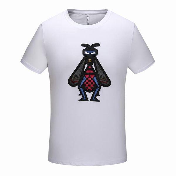 New York Fashion High Quality Heron Preston Nasa USA Flag Embroidery Men Women Street Luxury Cotton Hoody Casual Short Sleeve T-Shirt C28