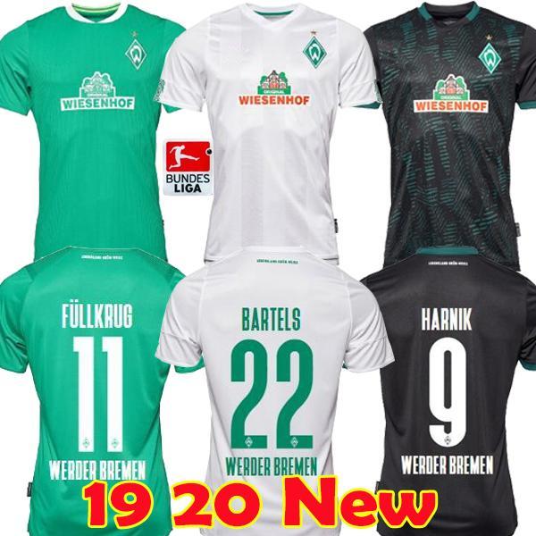 19 20 Werder Bremen 120th Anniversary Soccer Jersey Junior Sportverein Werder Bremen football shirt PIZARRO OSAKO HARNIK KRUSE RASHICA shirt