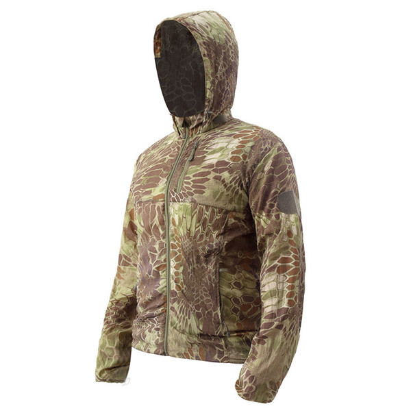 best selling ESDY Outdoors Tactic Sunscreen Clothes Male Python Skin Camouflage Speed Do Cycling Wear Men