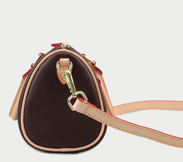 Hot Luxury Top-Qualität Marke Echtes Leder Damen Berühmte Handtaschen Designer Schultertasche mit Schloss und Datumscode N40391 25 cm 30 cm 35 cm